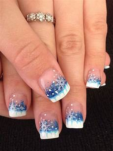 15 winter gel nail art designs ideas stickers 2016