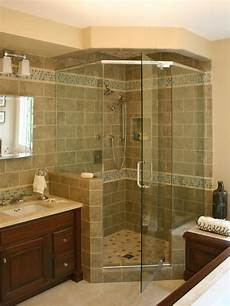 Houzz Bathroom Tile Ideas Corner Shower Tile Houzz