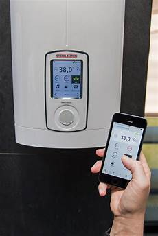stiebel eltron dhe connect ish press release dhe connect app bluetooth stiebel