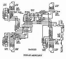 Mercury 1959 1960 Windows Wiring Diagram All About