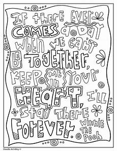 Winni Malvorlagen Quotes Picture Coloring Pages Quote Coloring Pages