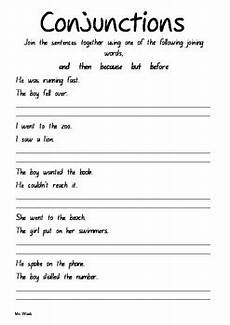 conjunction worksheets by all organised teachers pay teachers
