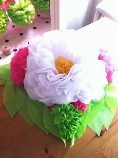 tissue paper flower centerpiece paper flower