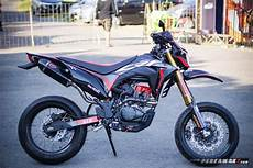 Modifikasi Honda Crf150l by Intip Modifikasi Honda Crf150l Supermoto By Ahm Gambaran