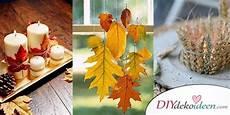 Herbstdeko Selber Machen 15 Diy Bastelideen F 252 R Die