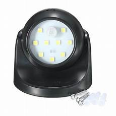 motion activated led sensor light 360 dgree adjustable cordless battery powered wall night light