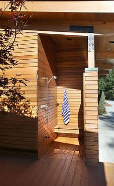 10 excellent exles of outdoor shower designs contemporist