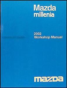 auto repair manual free download 2002 mazda millenia instrument cluster 2002 mazda millenia repair shop manual original
