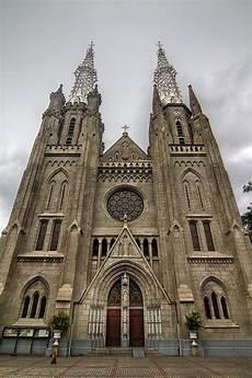 Gereja Katedral Jakarta Indonesia Jakarta City