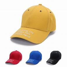 the new son summer cap curved eaves topi letters cotton embroidery baseball