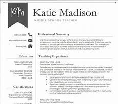 5 teacher resume sle format templates 2020