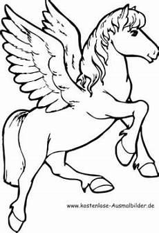 Pegasus Malvorlagen Zum Ausmalen Malvorlage Pegasus Pferd Ausmalbilder Pferde Malvorlage