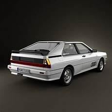 Audi Quattro 1980 - audi quattro 1980 3d model max obj 3ds fbx c4d lwo lw lws