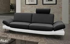 sofa garnitur design sofa garnitur 2 3 sitzer schwarz wei 223 classic