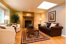 How To Adorn Room With Warm Color Scheme Interior