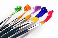 painting brushes stock image image of colour