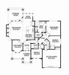 dreamhomesource com house plans ranch style house plan 3 beds 2 baths 1880 sq ft plan