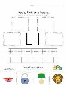letter l worksheets cut and paste 23203 18 entertaining letter l worksheets for kittybabylove