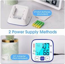 do automatic blood pressure machines read high 2x120 reading memory atmoko automatic digital bp machine kit with large backlit display for home