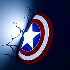 captain america wall light nz 3d captain america shield light not socks gifts