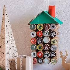 calendrier avent bricolage calendriers de l avent en rouleaux de papier