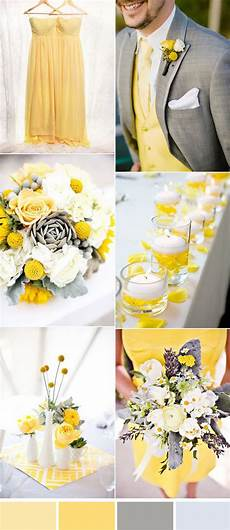 five beautiful wedding colors in shades of grey gray