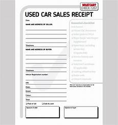 car sales receipt template sle car sale receipt car sale receipt template