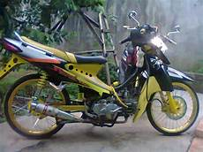 Smash Modifikasi modifikasi suzuki smash new titan racing drag simpel