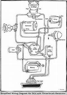 harley 7 pin wiring diagram ironhead simplified wiring diagram for 1972 kick the sportster and buell motorcycle forum