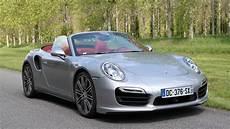 porsche 911 decapotable porsche 911 turbo cabriolet le plein de sensations