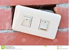 wall light switch broken switch light electronic stock images image 34241784
