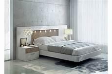tete de lit lit moderne 160x200 t 234 te de lit led chevets baix 121