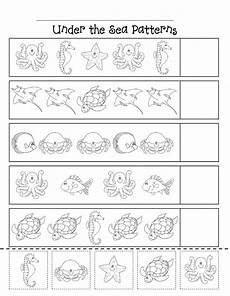 animal pattern worksheets 14350 patterns scribd pattern worksheets for kindergarten animals preschool