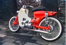 Modifikasi C70 by 42 Foto Gambar Modifikasi Motor C70 Racing Chopper