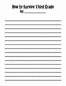 writing worksheets for 3rd grade 22914 quot how to survive quot letter prompt third grade writing writing lessons end of school year