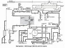 83 F100 Wiring Diagram Help Ford Truck by 1983 1988 Ford Bronco Ii Start Ignition Wiring Diagram