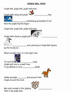 song worksheet jingle bell rock with video