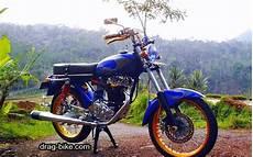 Modifikasi Mesin Gl 100 by 50 Foto Gambar Modifikasi Honda Cb 100 Klasik Style