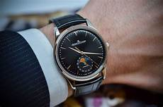 gents watches jaeger lecoultre master ultra thin moon 39 black dial swiss classic watches