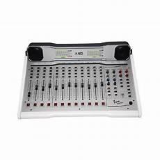 broadcast mixing console aeq bravo tt on air broadcast mixing console radio