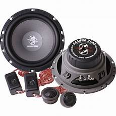 ground zero gztc165tx 6 5 2 way component speakers