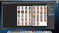 how to make a contact sheet in adobe photoshop cs6 youtube