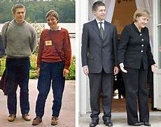 Angela Merkel With Husband Then 1989 At A