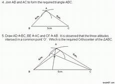 construction 3 orthocenter middle high school algebra geometry and statistics ags