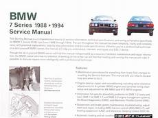 motor auto repair manual 1994 bmw 7 series electronic throttle control bentley b794 bmw e32 7 series 1988 1994 service manual