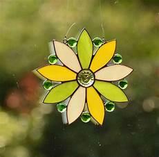 Malvorlagen Blumen Mit Gesicht Fensterbild Blume Mit Gesicht Glasbild