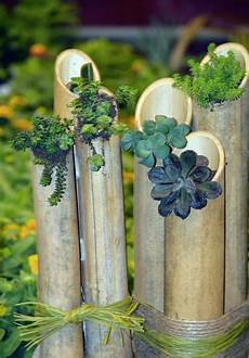 bambus deko ein exotisches flair f 252 r den garten