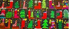 weihnachten kunstunterricht grundschule anke kremer