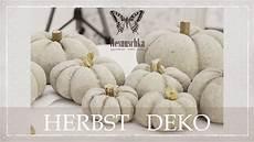diy herbst deko how to concrete pumpkins autumn