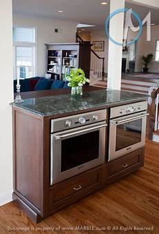 Kitchen Islands With Oven And Microwave by Side By Side Oven In An Island Hmmm Maybe Just The